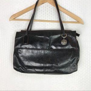 HOBO // Black Leather I Love Hobo shoulder bag